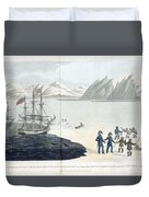 A Voyage Of Discovery Duvet Cover