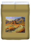 A Walk In La Quinta Cove Duvet Cover