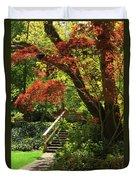 A Walk In Lithia Park Duvet Cover