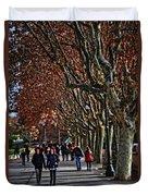 A Walk In The Park - Valencia Duvet Cover