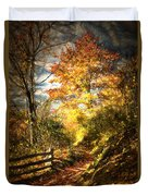 The Lighted Path Duvet Cover
