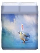 A Walk On Water Duvet Cover