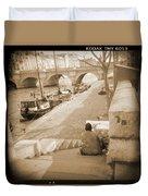 A Walk Through Paris 1 Duvet Cover