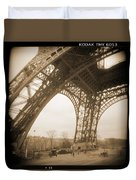 A Walk Through Paris 13 Duvet Cover by Mike McGlothlen