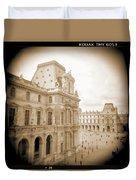 A Walk Through Paris 20 Duvet Cover