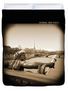 A Walk Through Paris 7 Duvet Cover by Mike McGlothlen