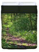 A Walk Through The Bluebells Duvet Cover