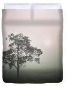 A Walk Through The Clouds #fog #nuneaton Duvet Cover