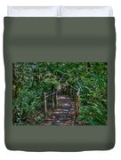 A Walk Through The Forest Duvet Cover