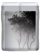 A Walk Through The Mist Duvet Cover