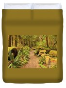 A Walk Through The Rainforest Duvet Cover