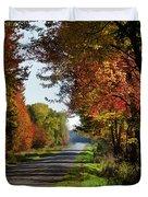 A Warm Fall Day Duvet Cover