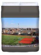 A Washington View From Cardoza High School Duvet Cover