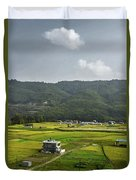 A Watcher In The Hill Duvet Cover