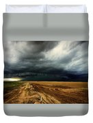 Nature's Watering Of The Crops Duvet Cover