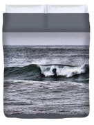 A Wave On The Ocean Duvet Cover