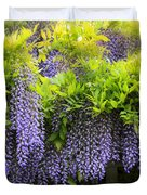A Wealth Of Wisteria Duvet Cover