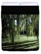 A Weeping Willow Casts Long, Cool Duvet Cover
