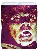 A Werewolf In London Duvet Cover