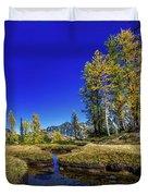 A Western Autumn Duvet Cover