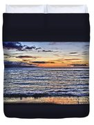 A Western Maui Sunset Duvet Cover