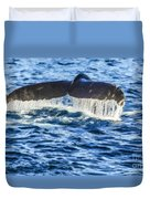 A Whale Of A Tail Duvet Cover