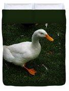 A White Duck Duvet Cover