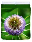 A Wild And Prickly Teasel Duvet Cover