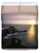A Window On The Sea Duvet Cover