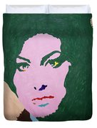 A J Winehouse Duvet Cover