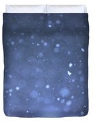 A Snowy Afternoon Duvet Cover