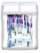 A Winters Day Duvet Cover