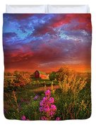 A Wisconsin Story Duvet Cover