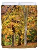 A Wonderful Walk In The Park Duvet Cover