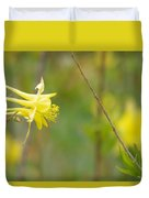 A Yellow Paradise Duvet Cover