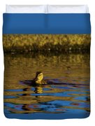 A Young Duckling Duvet Cover