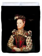 A Young Lady Aged 21 Duvet Cover