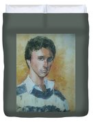 A Young Man Duvet Cover