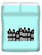 Aan De Amsterdamse Grachten - On The Amsterdam Canals Duvet Cover