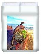 Abalone On Saddle Duvet Cover