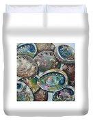 Abalone Shells Duvet Cover