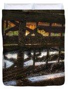 Abandon Dock Duvet Cover