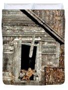 Abandoned Barn Duvet Cover