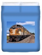 Abandoned Bessemer And Lake Erie Trains Schellville California Duvet Cover