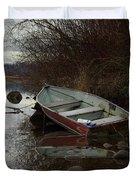 Abandoned Boat Duvet Cover