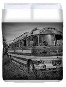 Abandoned Bus Duvet Cover
