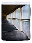Abandoned Bus Duvet Cover