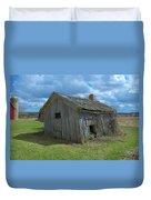 Abandoned Farm Building Duvet Cover