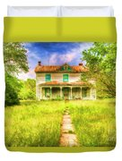 Abandoned Farm House Duvet Cover