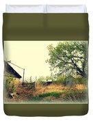 Abandoned Farm Yard Duvet Cover